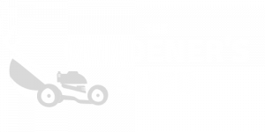 The Gardeners Shed logo white