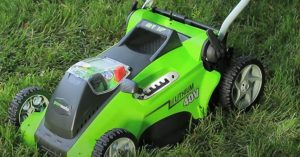 Greenworks 25322 - Cordless Lawn Mower Review