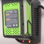 Greenworks Cordless Mower Battery and Charger