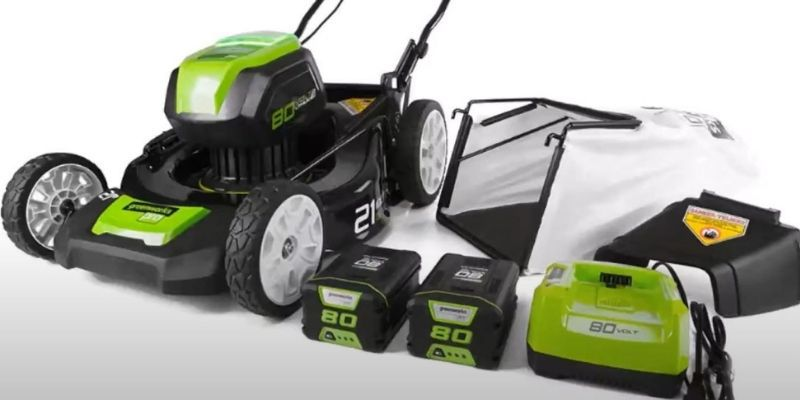 Greenworks 80v 21 inch cordless mower review